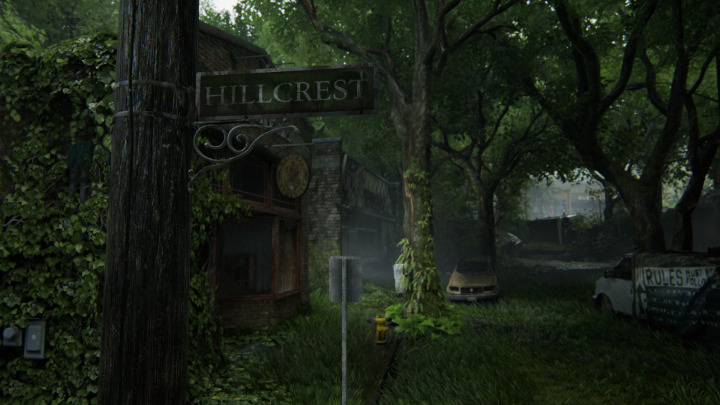 The Last of Us Part 2 - Hillcrest Sign