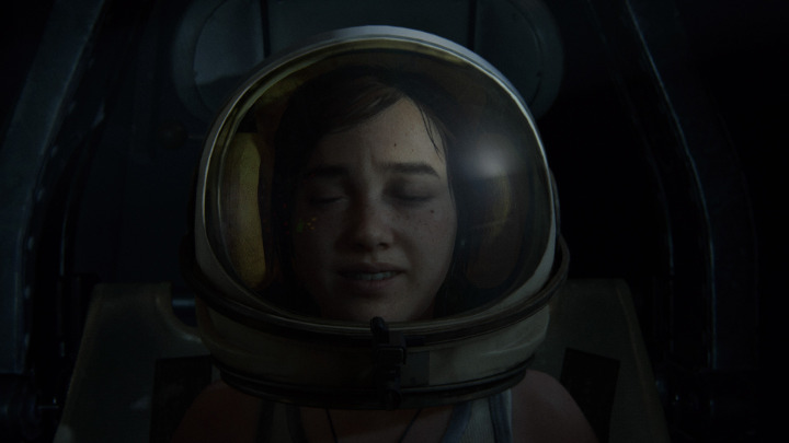 The Last of Us Part 2 - Ellie in a Space Helmet