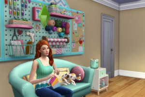 The Sims 4 Nifty Knitting Stuff
