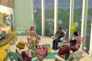 Sims 4 knitting club