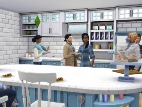 Sims 4 Kitchen