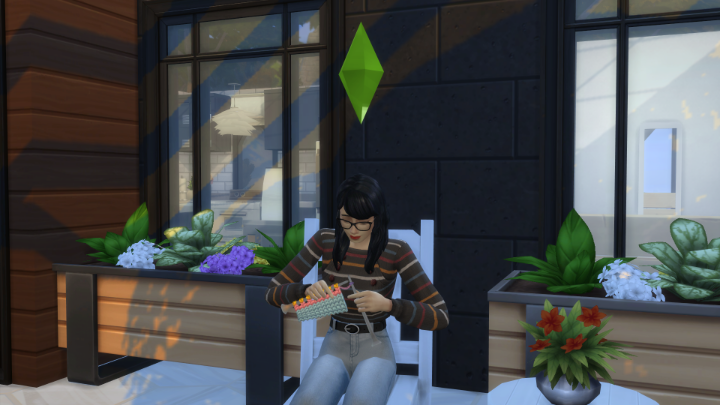 Sims 4 knitting