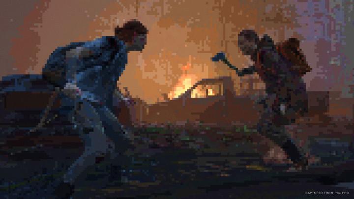 The Last of Us Part II Pixels