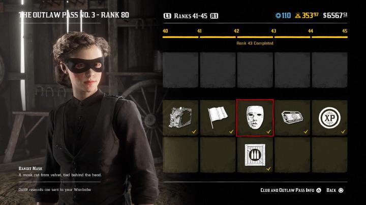 Red Dead Online - Bandit Mask