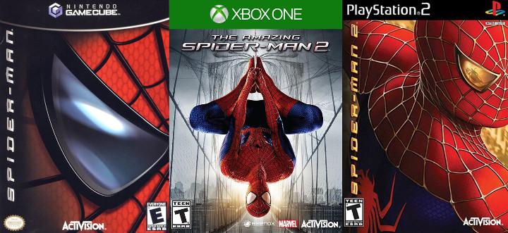Spider-Man Movie Tie-In Games