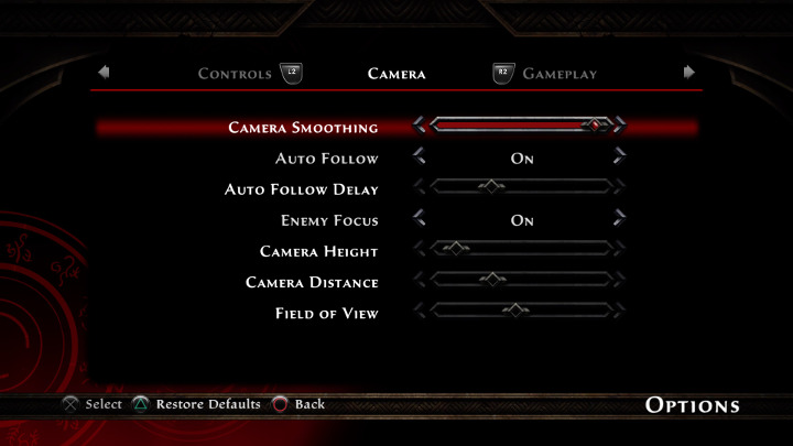 Kingdoms of Amalur: Re-Reckoning - Camera Options