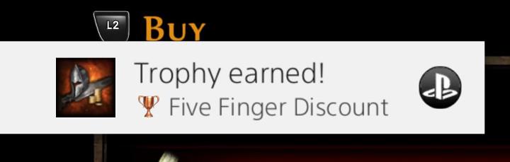 Kingdoms of Amalur: Re-Reckoning - Five Finger Discount Trophy