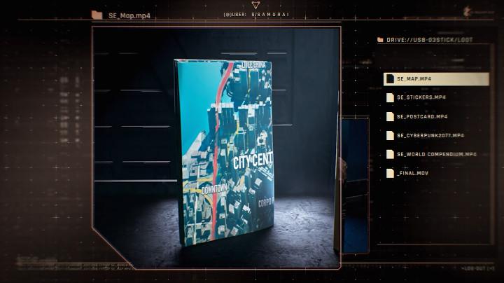 Cyberpunk 2077 - Map
