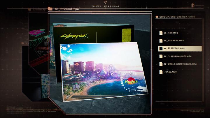Cyberpunk 2077 - Postcards