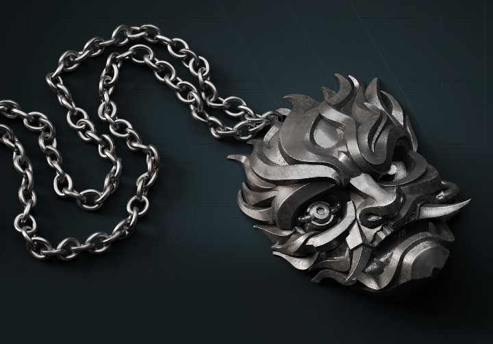 Cyberpunk 2077 - Samurai Medallion