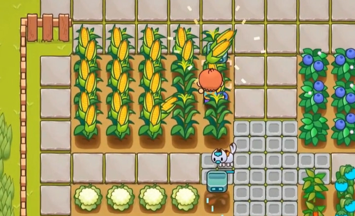 Everafter Falls Is a Beautiful Farming Game in the Vein of Stardew Valley