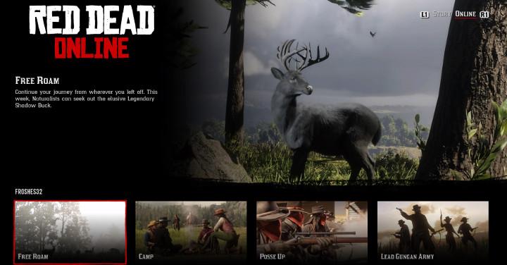 Red Dead Online - Shadow Buck