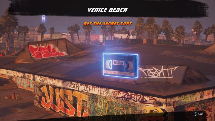 THPS - Venice Beach - Secret Tape