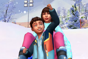 Sims 4: Snowy Escape World, Mt. Komorebi