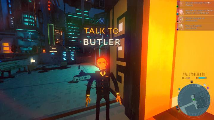 Cloudpunk - Butler
