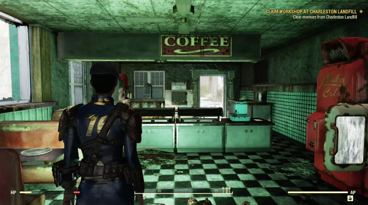 Fallout 76 on a Phone
