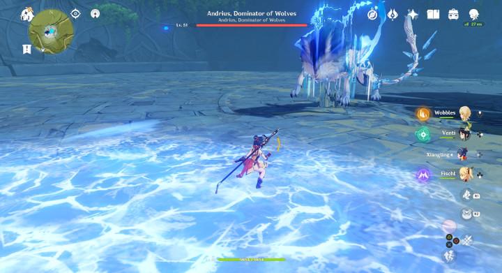 Genshin Impact - Andrius, Dominator of Wolves