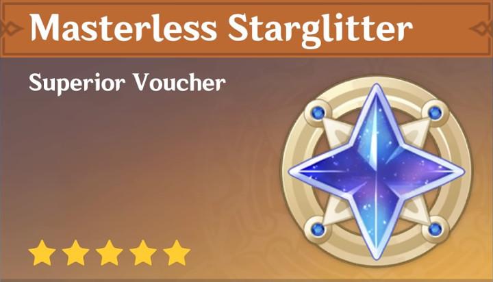 Genshin Impact - Masterless Starglitter