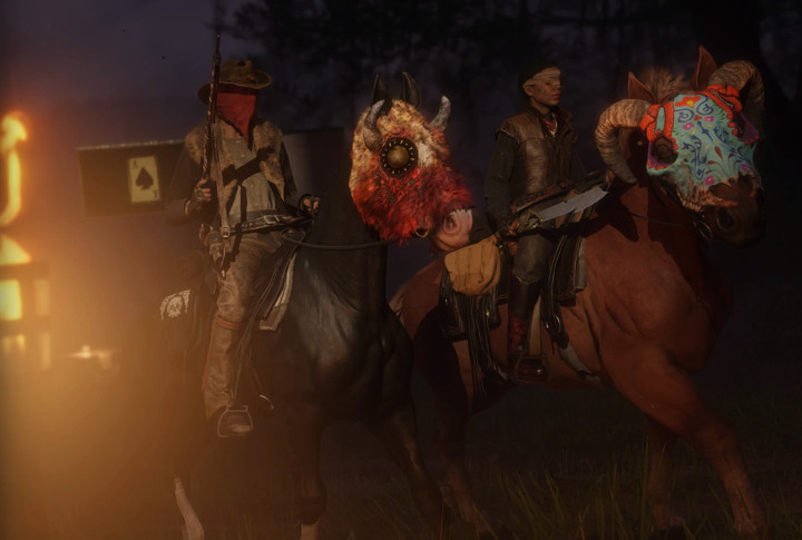 The Red Dead Online Halloween Pass Is Here and It's… Decent, I Guess?