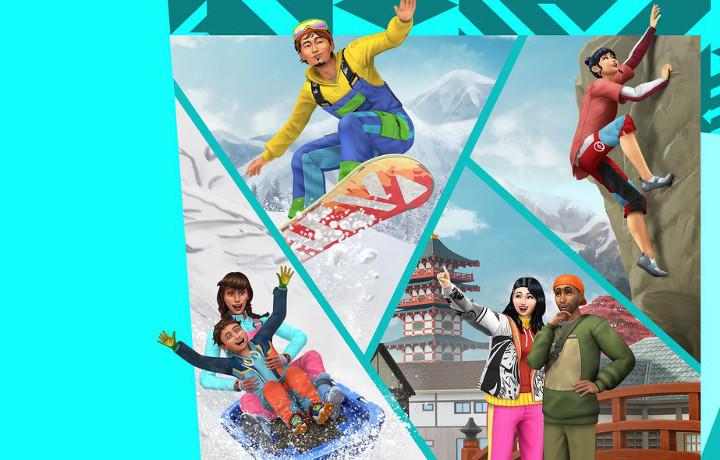 The Sims 4 - Snowy Escape