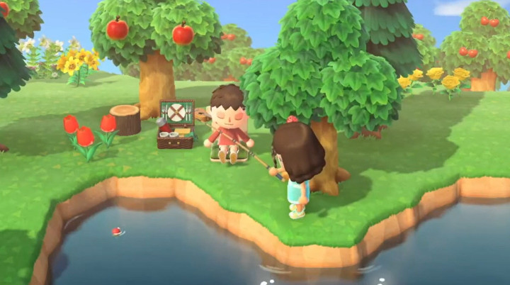 """Combining Animal Crossing: New Horizons and I'm with Her's """"Ryland (Under the Apple Tree)"""" Makes for the Most Relaxing Video Ever"""