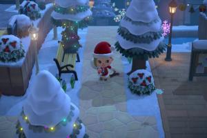 Animal Crossing Christmas Update