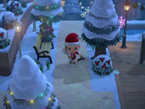 Animal Crossing Christmas Update