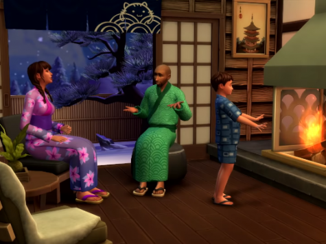Sims 4 snowy escape CAS items