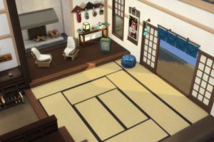 Sims 4 split level floors