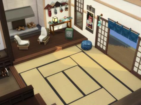 Sims 4 split level floors