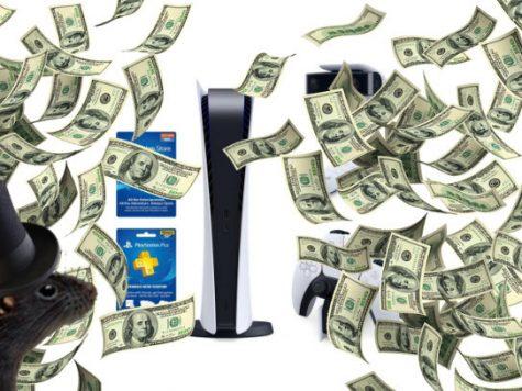 A Rat Profiteering of PS5 Units