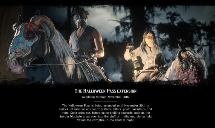 Red Dead Online - Halloween Pass Extension