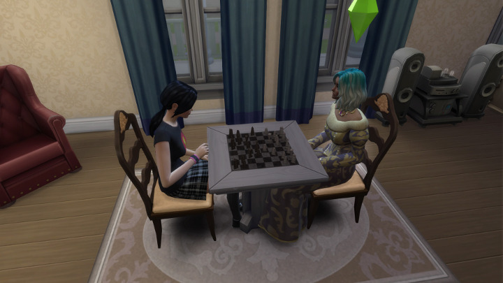 The Sims 4 - Tess and Mayday
