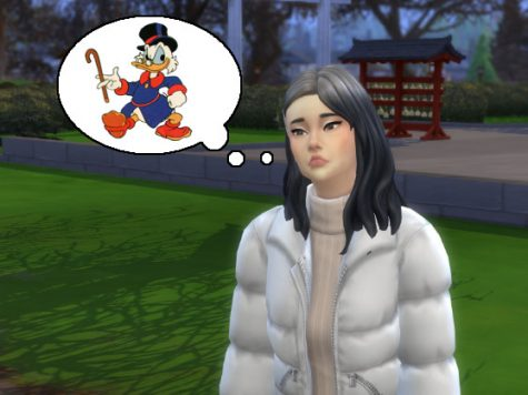 Sims 4 Snowy Escape Scrooge McDuck