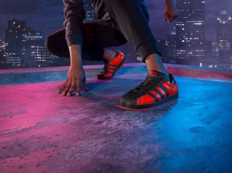 Miles Morales Superstar sneakers