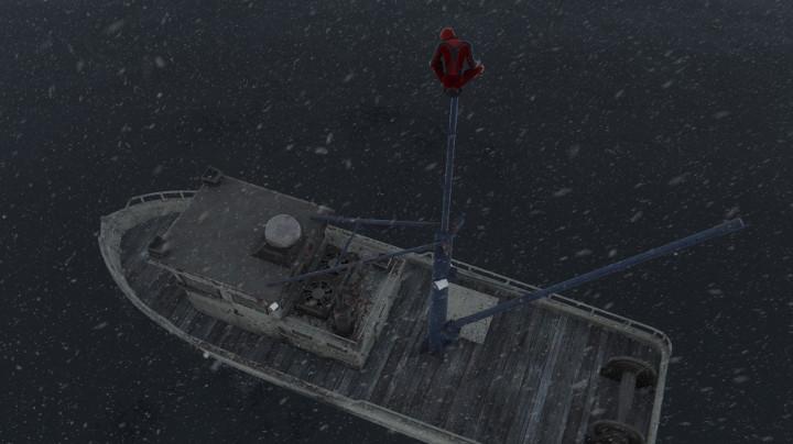 Marvel's Spider-Man: Miles Morales - On a Boat