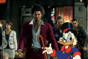 Scrooge McDuck in Yakuza