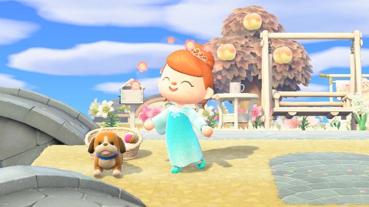 Animal Crossing puppy plushie