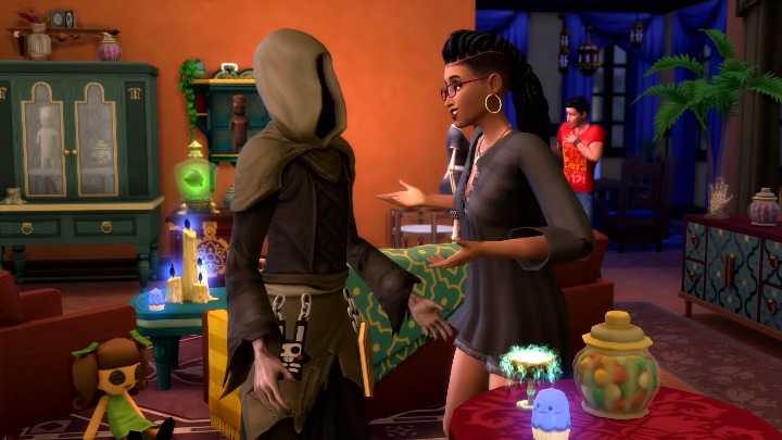 Sims 4 Paranormal Stuff Pack CAS Review