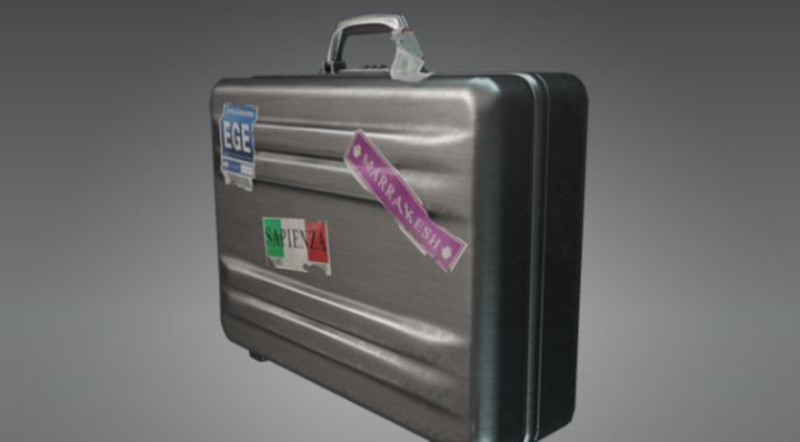 Hitman 2 - Aluminum Travel Briefcase