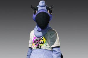 Hitman 2 - Blue Flamingo Suit
