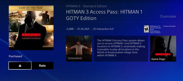 Hitman 3 Import