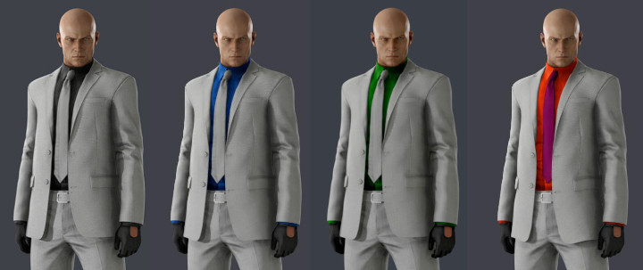 Hitman 3 - Console-exclusive suits