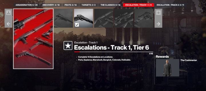 Hitman 3 - Escalation Track 1