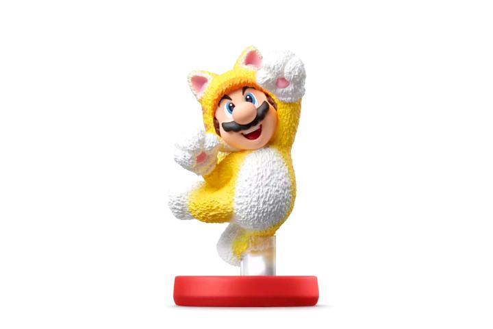 Cat Suit Mario amiibo