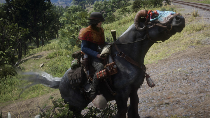 In Red Dead Redemption 2, I Wish I Could Jump onto My Horse While It Runs Alongside Me