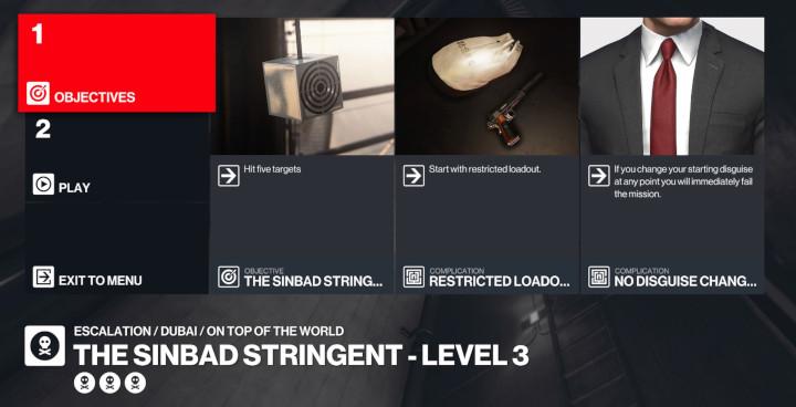Hitman 3 - The Sinbad Stringent