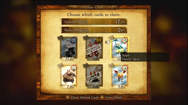 bravely Default II how to get more cards (1)