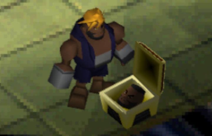 Final Fantasy VII - The Barret Mod