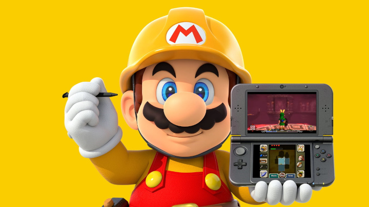 Mario Playing 3DS